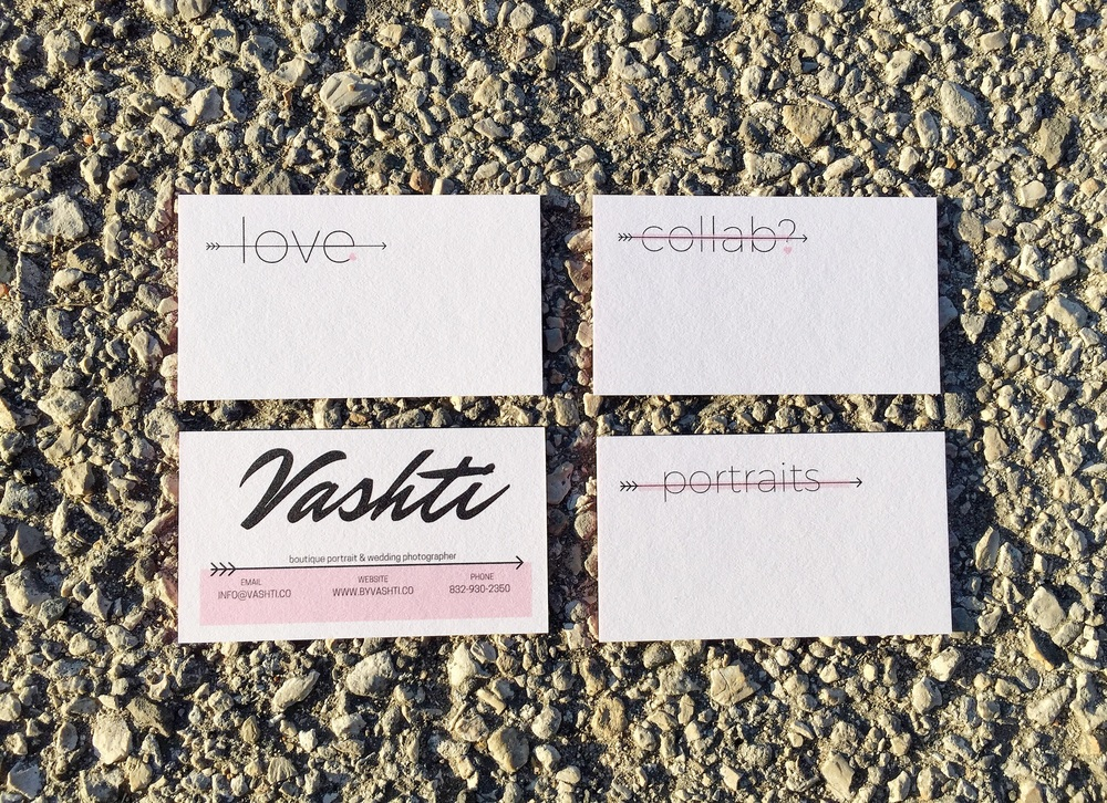 by Vashti Co | Delivered!  New Business Cards