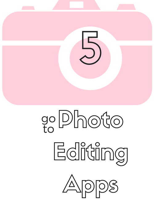 5 Photo Editing Apps | by: Vashti Co blog