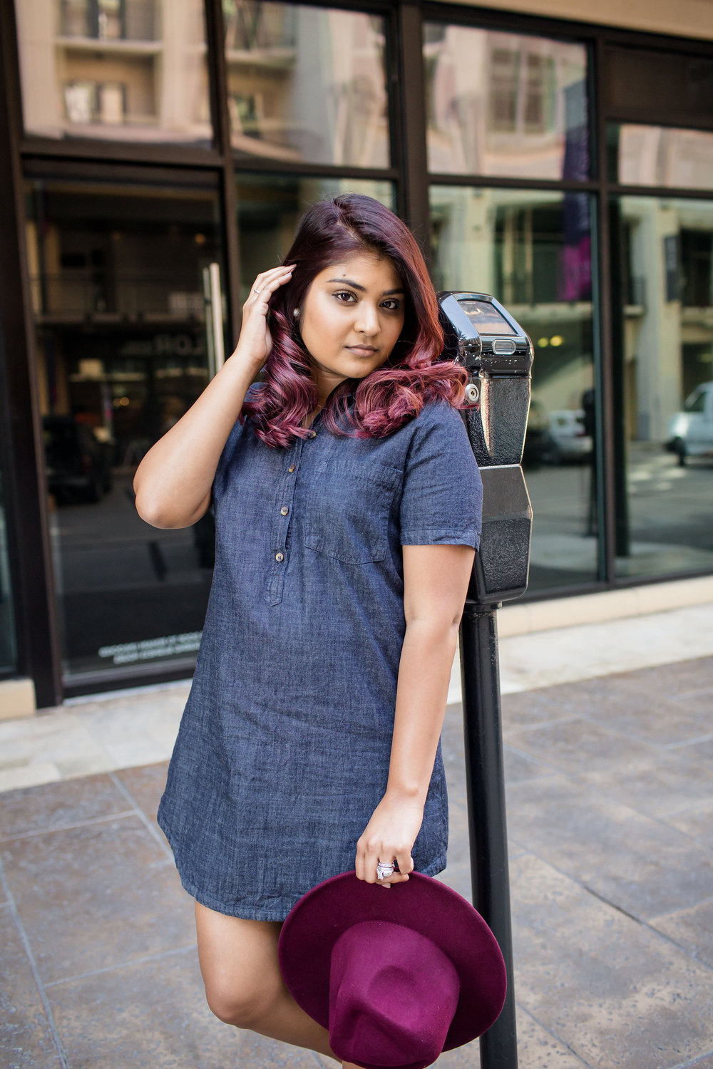 Tunic Jean Dress for the Fall | by: Vashti Co blog