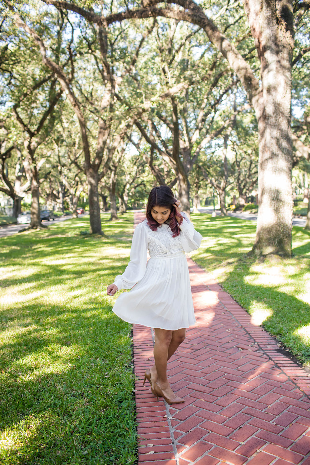 Boho White Dress - Under $50 | by Vashti Co Blog