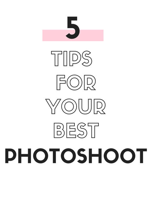 5 Tips for you Best Photoshoot | by Vashti Co blog