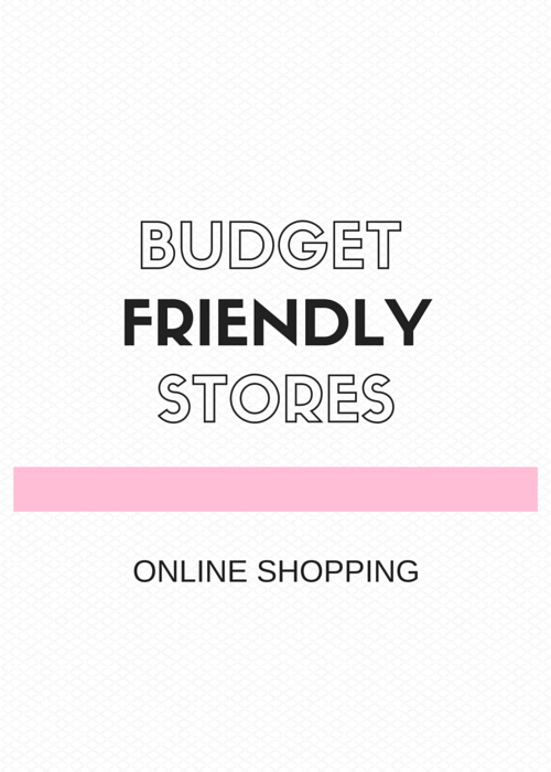 Budget Friendly Stores - Online Shopping by Vashti Co Blog - How to Update your Wardrobe without Breaking the Bank!