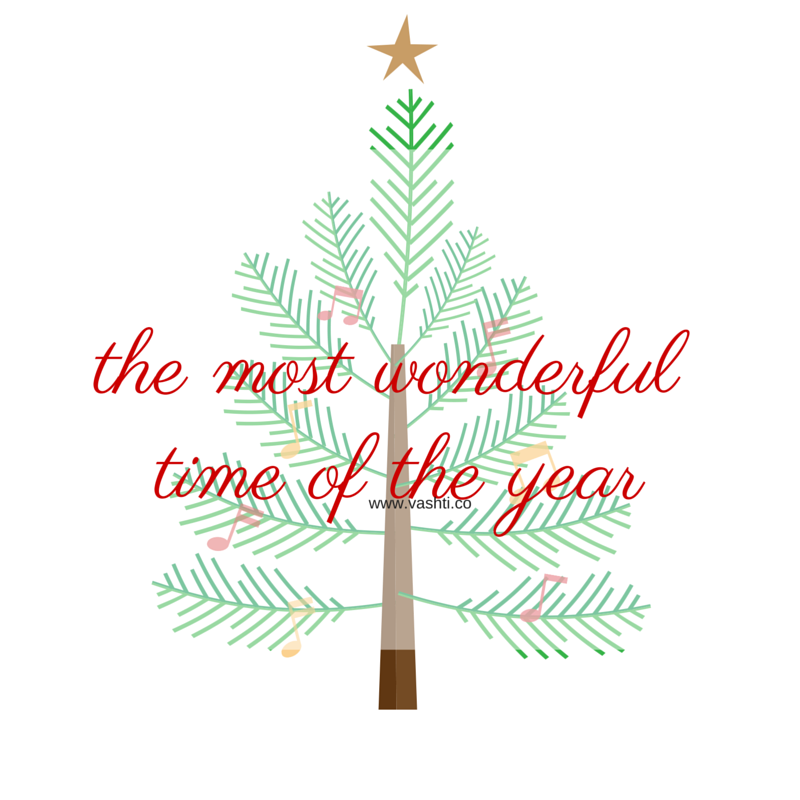 The Most Wonderful Time of the Year | By Vashti Co Blog