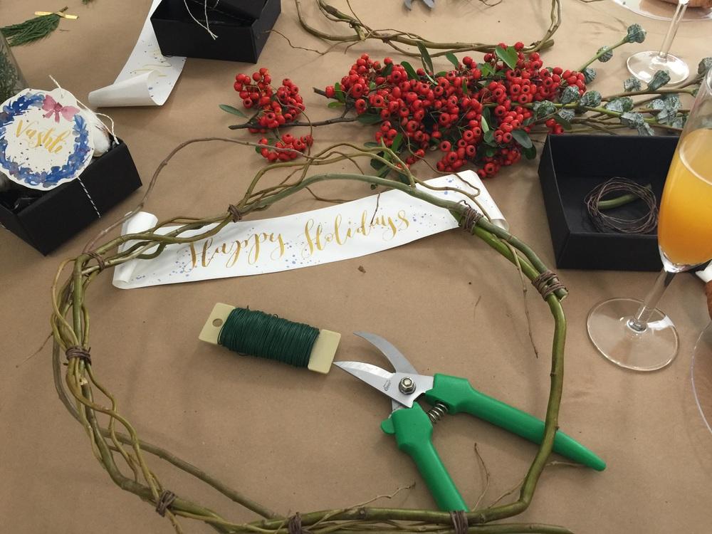 DIY Wreath Workshop | by Vashti Co.