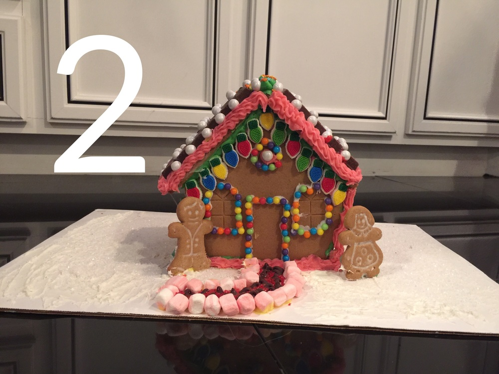 Gingerbread House Build Off, Christmas Program and Gift Wrapping | by: Vashti Co.