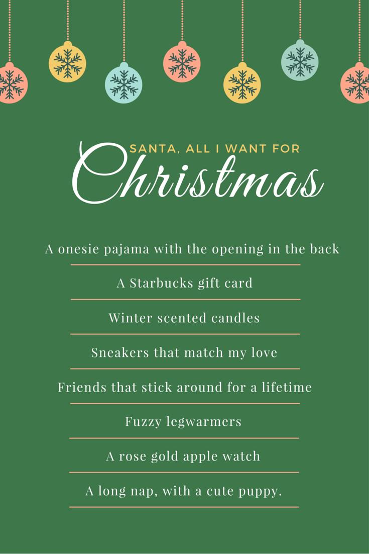 Holiday Wish List | by: Vashti Co.