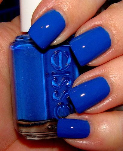 Manicure Monday Blues | by Vashti Co.