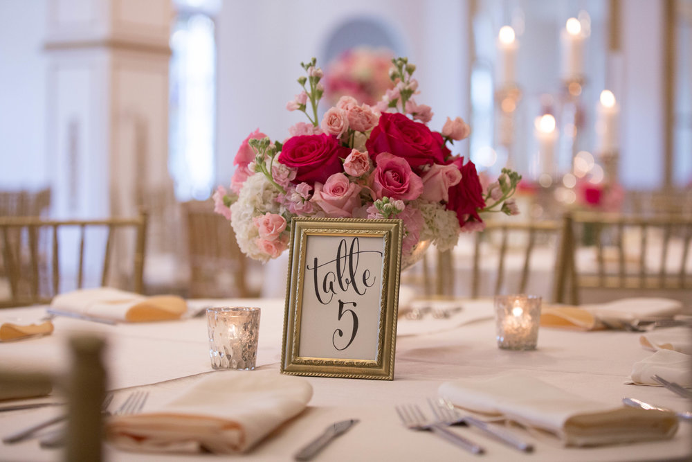 Table Numbers | by Vashti Co.