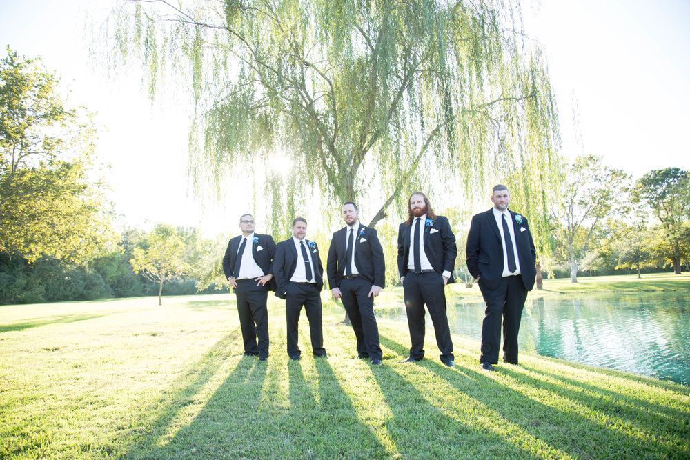 Bridal Party Portraits :  T + M wed | Kemah Gardens - Texas Weddings : Vashti Co. Photography