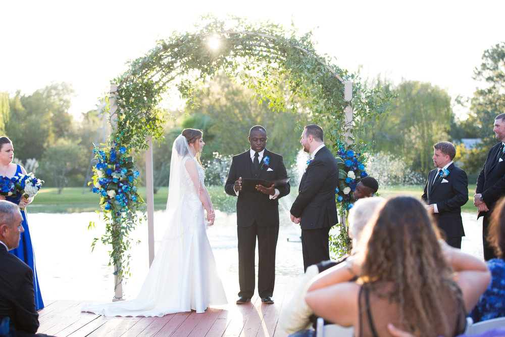 Ceremony Details :  T + M wed | Kemah Gardens - Texas Weddings | Vashti Co. Photography