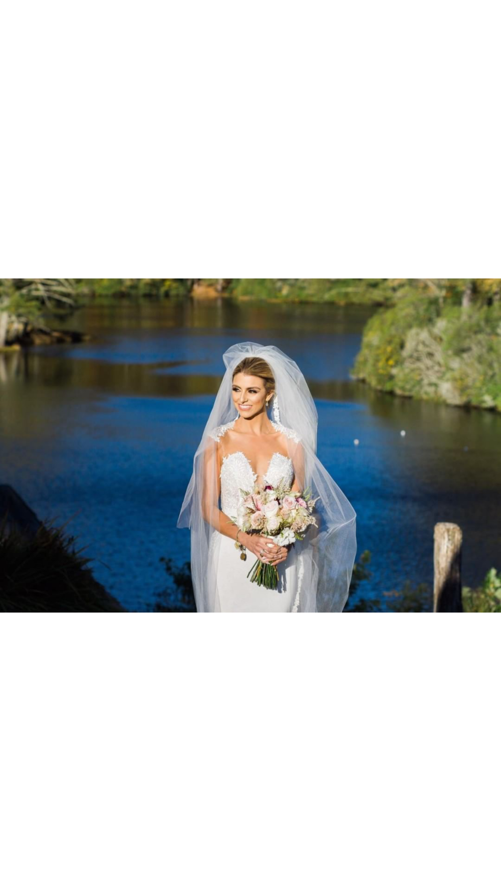 Monika\'s Blue Ridge Mountain Wedding In Berta — Sample Bridal Gowns ...