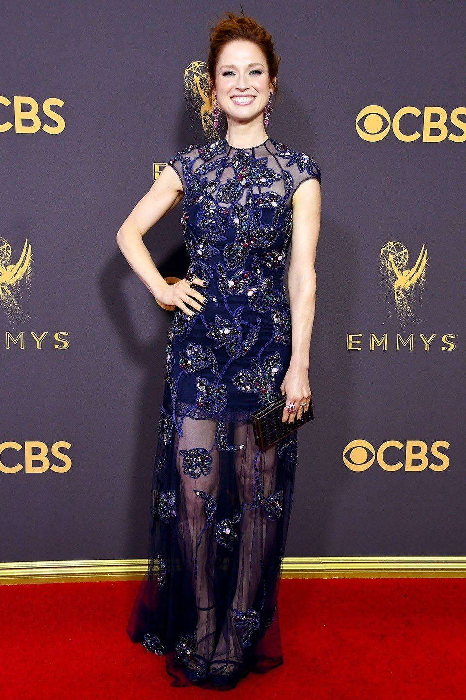 Ellie Kemper of The Unbreakable Kimmy Schmidt in Jenny Packham