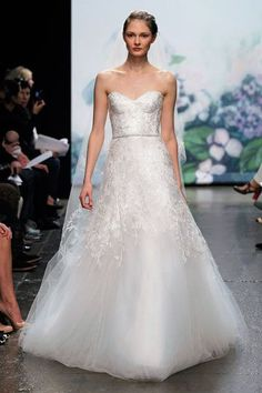Monique Lhuillier Sample Bridal Gowns Discount Designer Wedding