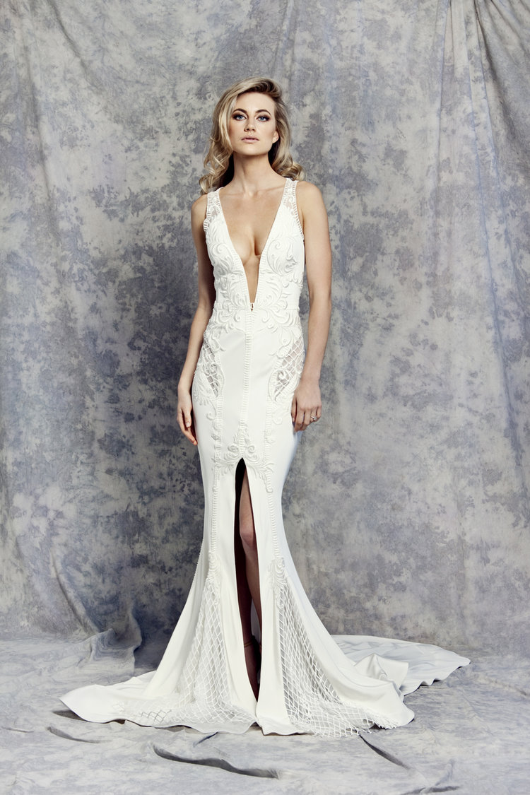 Pallas Couture Sample Bridal Gowns Discount Designer Wedding