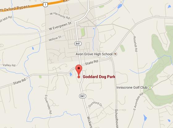 Goddard Park Map