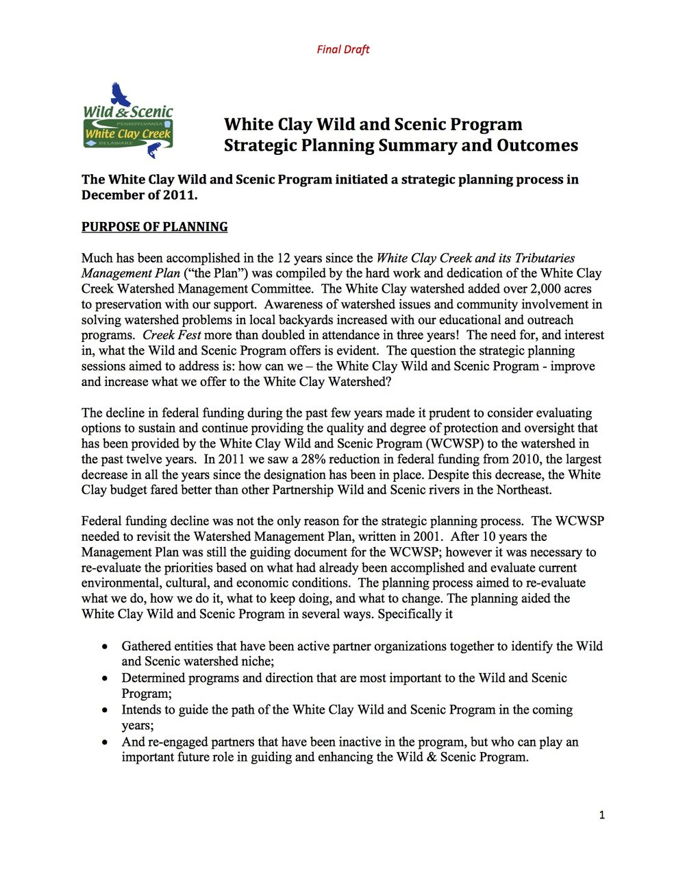WCWS Strategic PlanFinal Draft 2-21-13