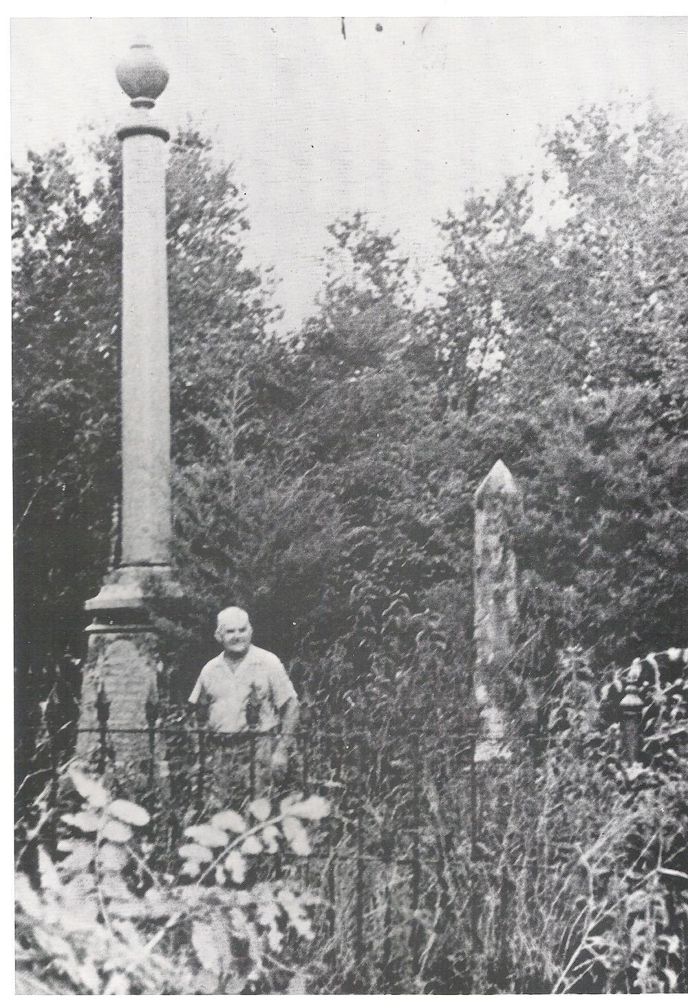 1950s, Mt. Zion Cemetery, Will Weeren
