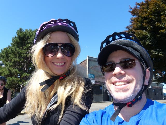 Best guests ride bikes!