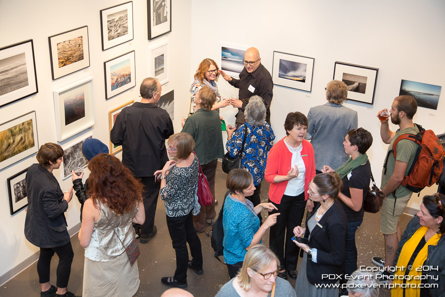 "Images from the opening receptions for several recent Newspace shows, including last year's Member's show,  ""Radical Color"" (various artists) and ""Contact"" (Jake Shivery)."
