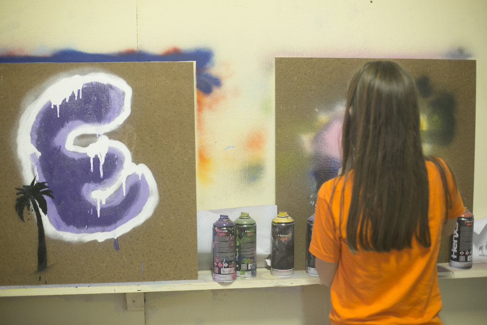 Graffitiworkshop skatepark sweatshop Kinderfeestje .jpg