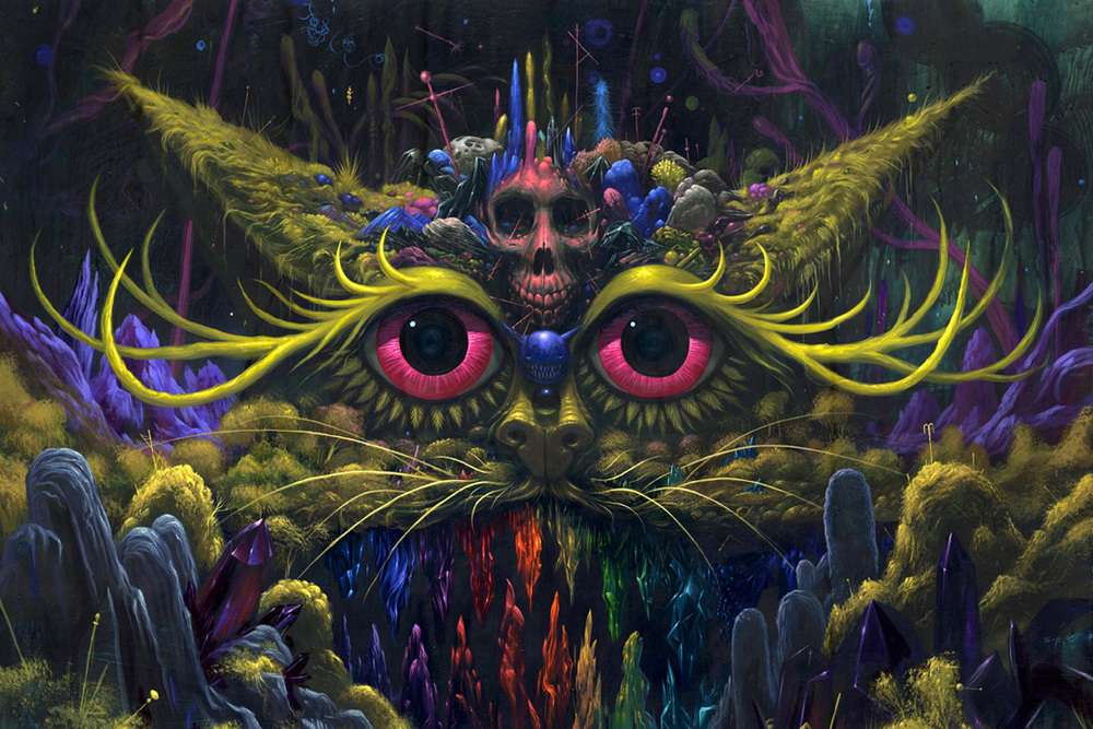Cat Goddess_ Jeff Soto