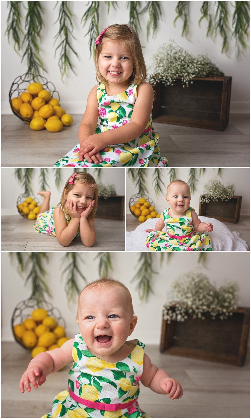 Chicago family photographer lemon session