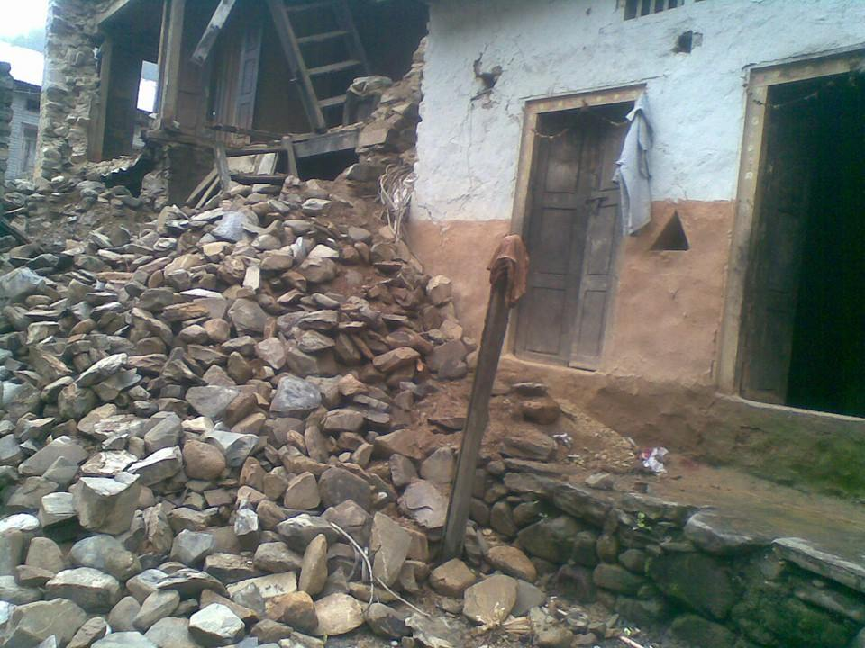 Countless homes have been absolutely destroyed by the earthquake, tremors, and landslides.