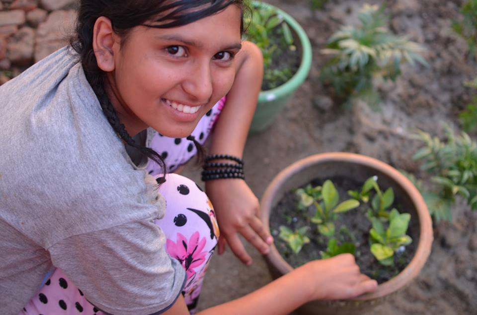 Sushmita gardening.jpg