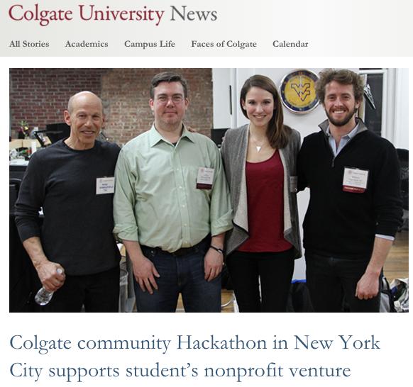 Colgate University: 03.20.2015