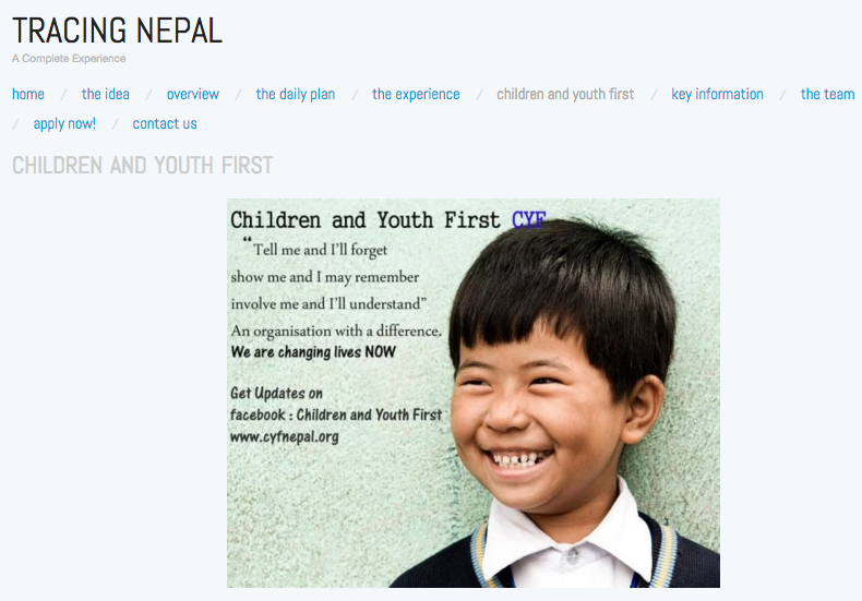 Tracing Nepal:2017