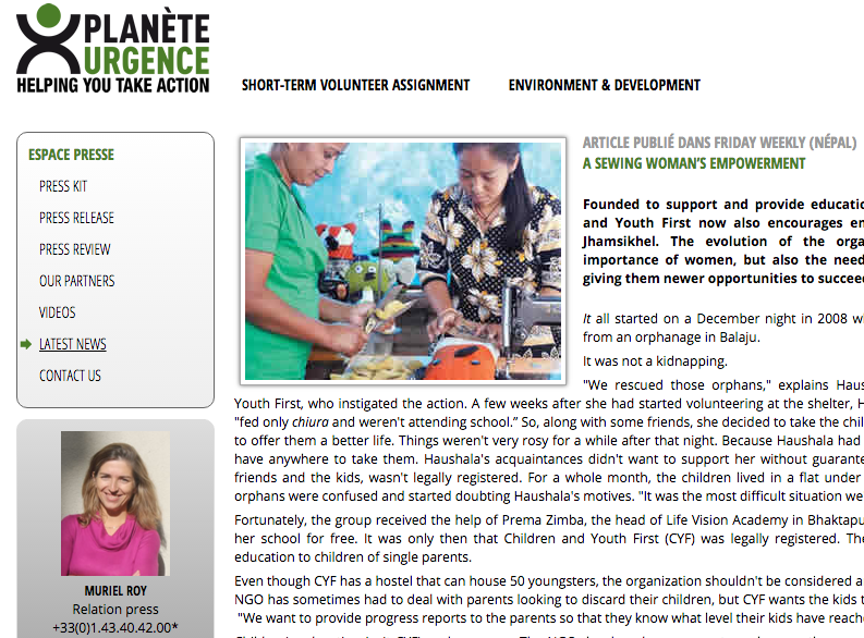 Planete Urgence:04.07.2014