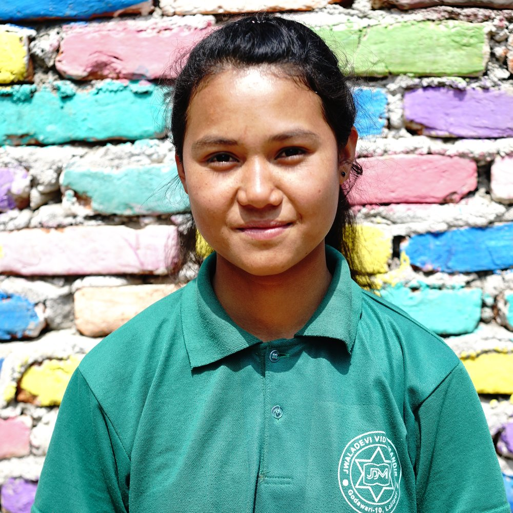 Rajkumari | Class 10 Home district: Dhading