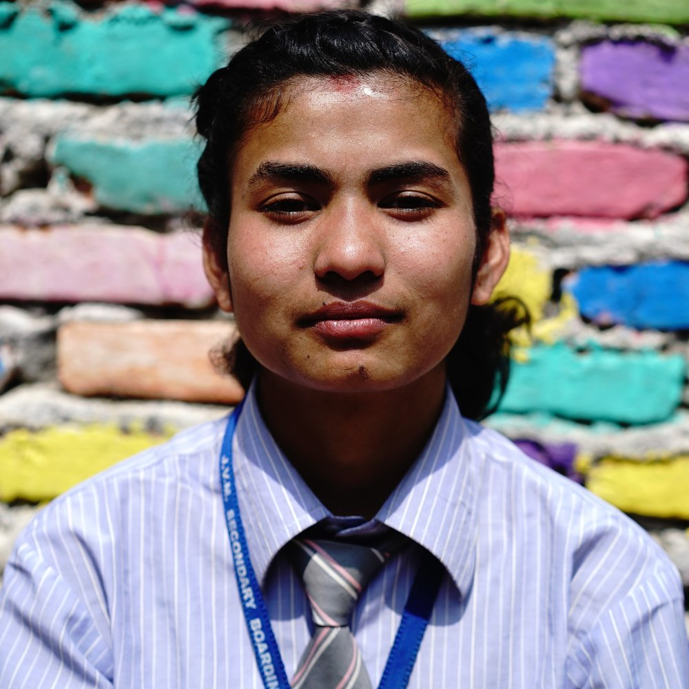 Radha | Class 10 Home district: Makwanpur