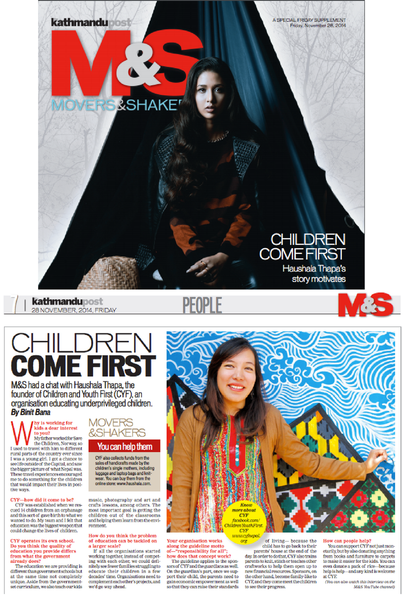 Kathmandu Post: 11.28.2014