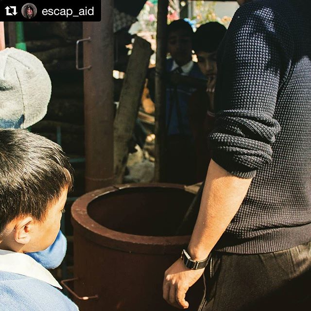 Thank you @escap_aid for setting us up with our new sustainable cookstove! 🔥 #Repost ・・・ I had an awesome time last week at @cyfnepal setting up the first institutional pilot! Thank you @haushala.thapa for having me! . . . . #cyfnepal #escap_aid #nepal #kathmandu #world #sustainability #sustainable #ecofriendly #eco #sustainabledesign #sustainableliving #gogreen #environment #recycle #entrepreneurlife #entrepreneurlifestyle #nonprofit #fundraising #philanthropy #dogood #volunteer #causes #givingback #studying #school #classroom #textbooks #studygram #institutionalcookstove