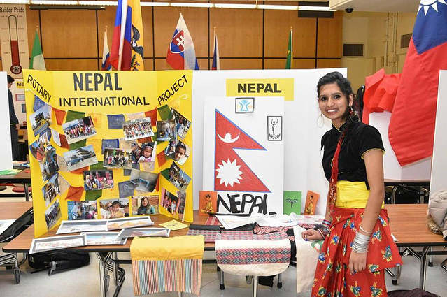 Sushmita Gautam our first youth exchange through @storiesabroad North Star Rotary Exchange, representing Nepal at the international students fair in Minnesota 😊 We're so proud of you, Sushmita! 🇳🇵 . . #cyfnepal #educationforall #lifeincyf #minnesota #studyabroad #globalcitizen #exchangestudent #youthexchange #nepal #nepali #youthleader #youthleadership #northstarrotary