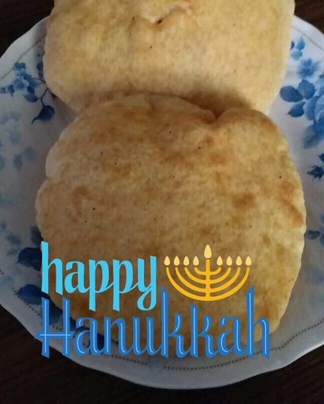 Happy Hanukkah to all our friends who celebrate! We hope your holiday is full of joy, making memories with loved ones, and enjoying delicious treats (like this cyf homemade puri 😊) Sending you lots of love and light from Nepal! 🙏🕯 . . . #Chanukah #Hanukkah #hanukkah2017 #firstnight #loveandlight #celebrate #holidayseason