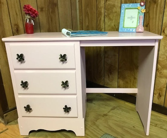 Desk, great for a little girls room