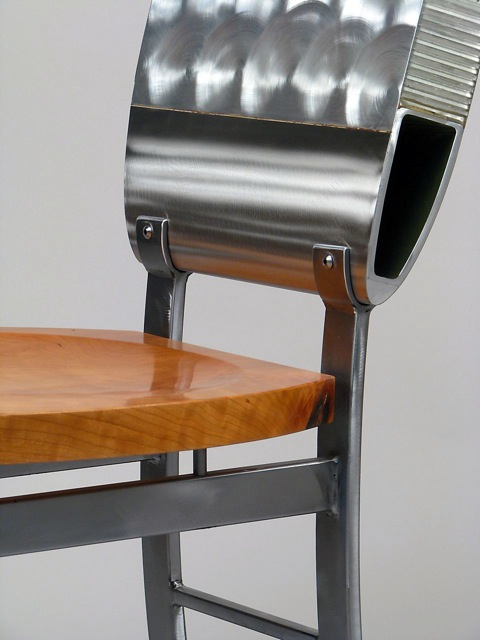 212 Heli Dining Chair detail
