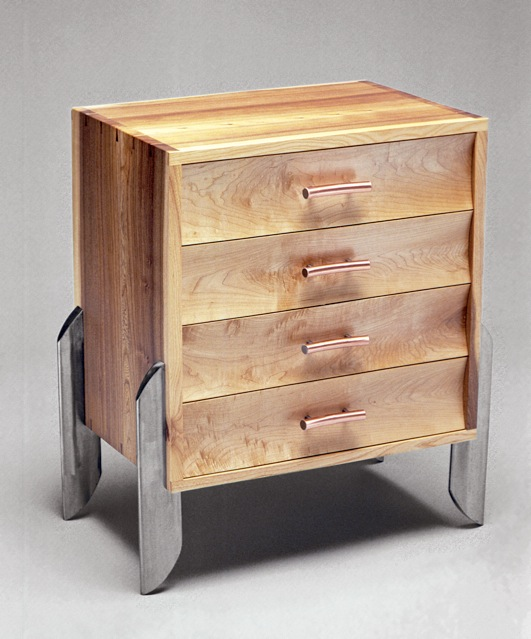 4 Drawer End Table