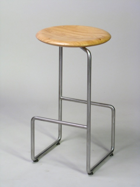 One Legged Stool (elm)
