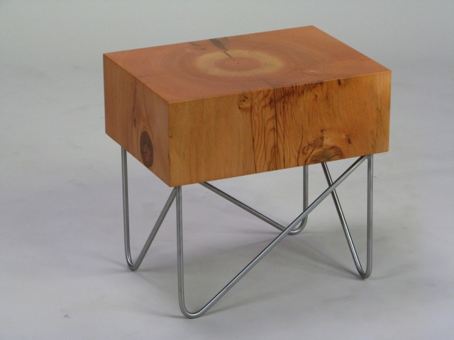 Beam End Table