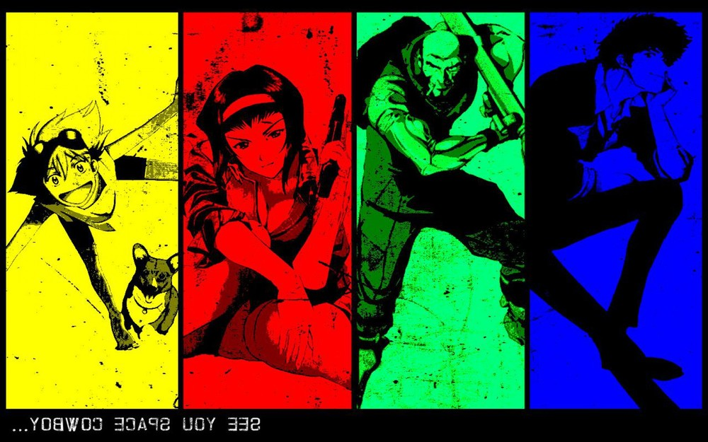 "Cowboy Bebop- Series (1998)  Bebop is probably one of the most well known yet underrated anime series. Yes, it's ""known"" but most people would more likely say they've heard of it than have actually seen it. The story revolves around a rag-tag group of bounty hunters, headed up by Spike Spiegel, an exiled hitman, his partner jet black, Faye valentine, Edward Wong and Ein, a rocket raccoon like genetically altered corgi. The crew hunts down bounties in world where just a few years after a massive space travel incident made earth uninhabitable, mankind has fled to the out-lying planets. Due the massive exodus, space piracy as well as all manner of crime begins to spike; growing beyond the control for the present law enforcement agency the ISSP (Inter Solar System Police), they make a radical decision by creating a legalized bounty contract system. That's where our protagonist come in, chasing bounties, making money, being anti-heroes all the while their rambunctious leader Spike deals with issues from his past coming back to kill him."