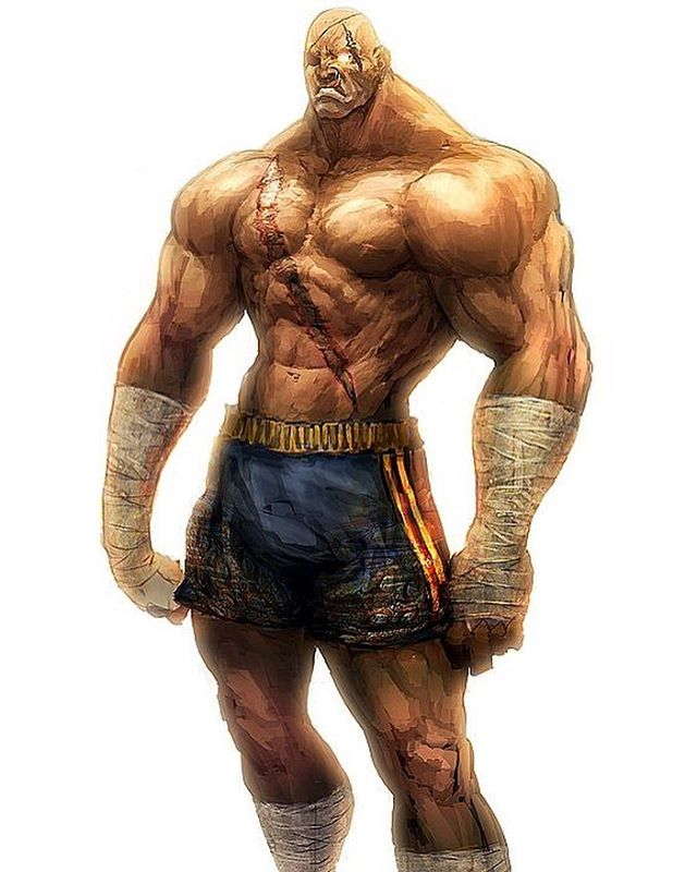 #sagat The king of the #tigerfist returns to #sfv in just a few short weeks. #HYPE! • • • • • • • #streetfighter  #streetfighter5  #sfv #FGC #capcom #fightinggames  #fightinggamecommunity  #tigershot  #gamergram  #thai