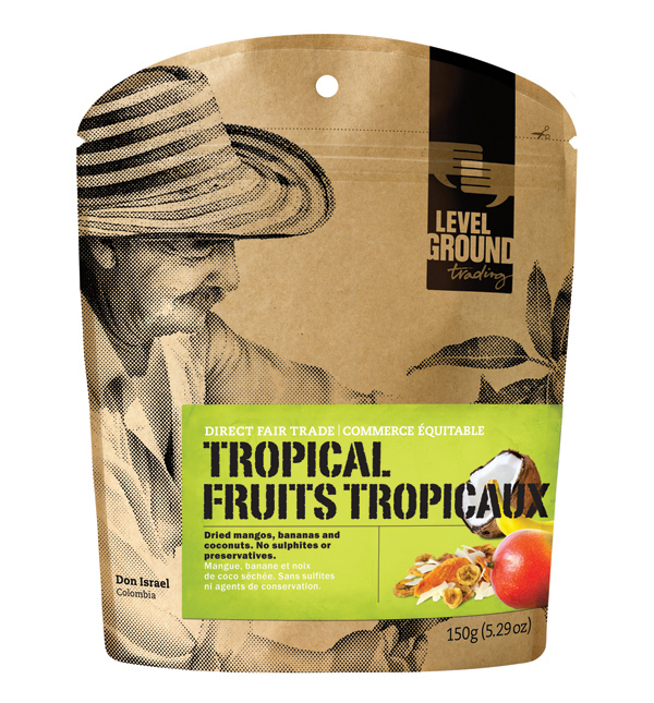 tropical dried fruit package