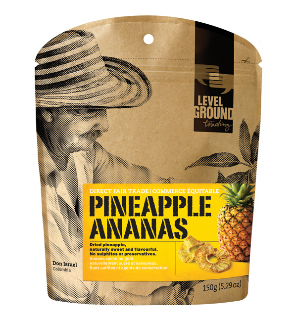dried pineapple package