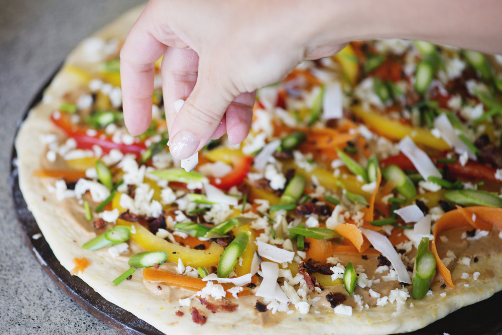 RECIPE: Ultimate Thai Pizza with Fair Trade Ingredients