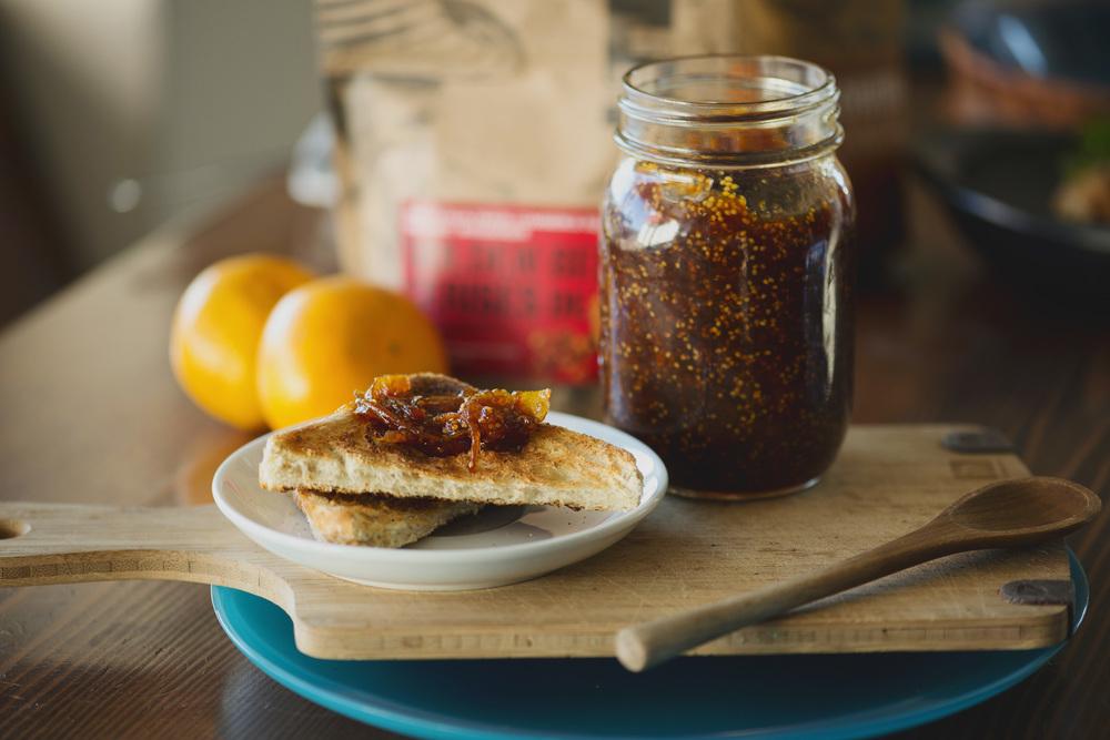 Golden berry and orange marmalade recipe
