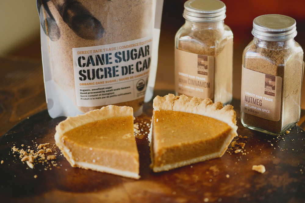 Chai Spiced Pumpkin Pie