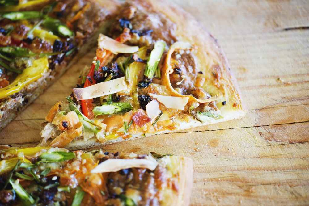 Ultimate Thai Pizza